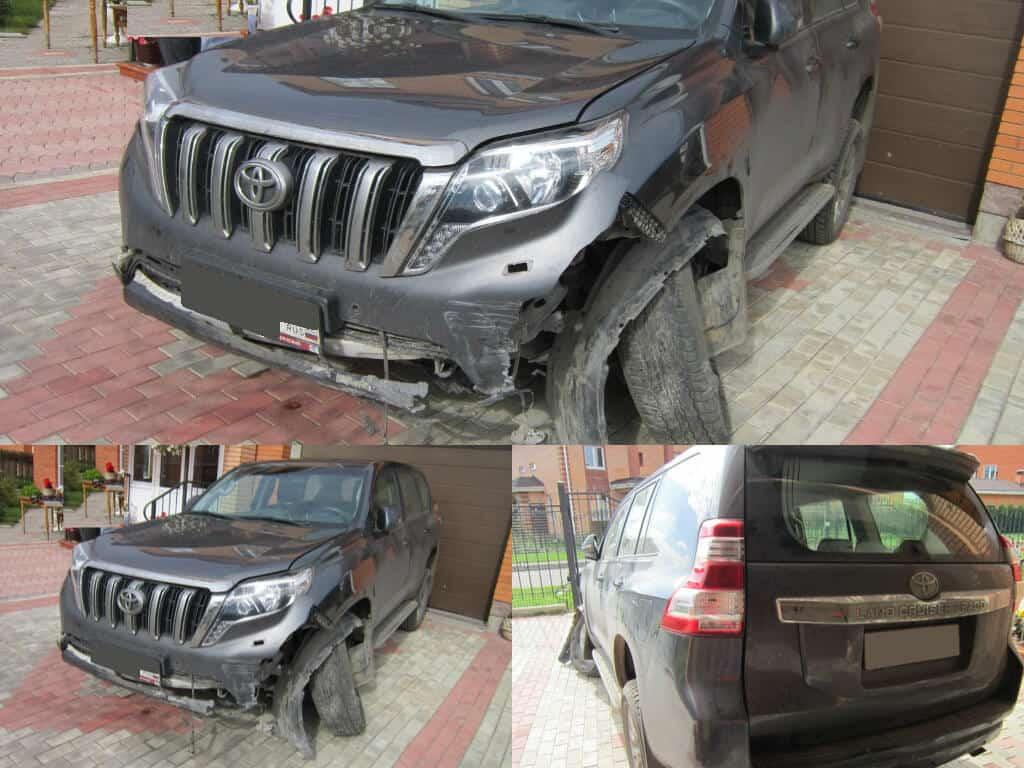 выкуп аварийных Mercedes